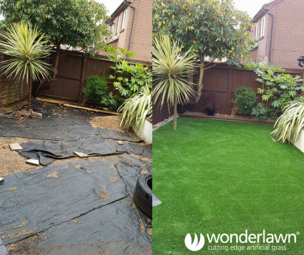 back garden transformations