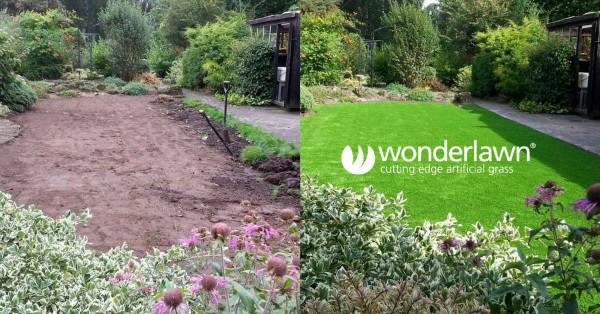 Artificial lawn transformation
