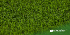 Luxury the best artificial grass looks like a deep plush lawn