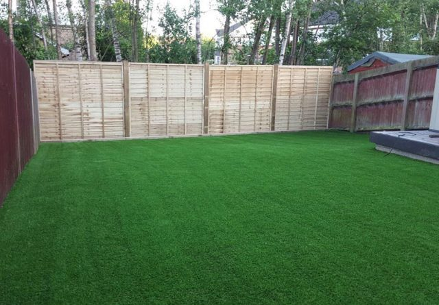 Artificial grass installations at Mrs Marinello, Sevenoaks