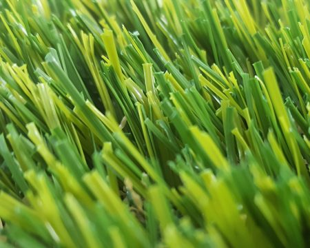 Natural looking artificial lawn