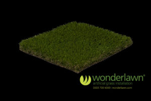 luxury artificial grass diamond black