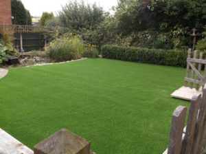 artificial grass install final