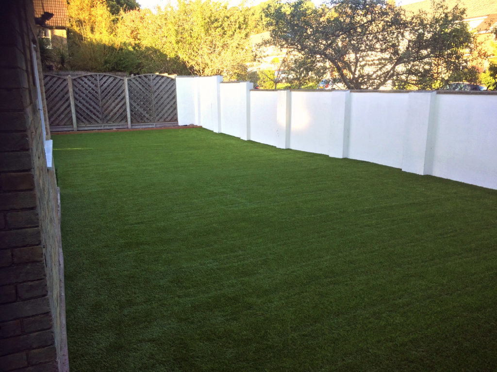 160m2 of Superior artificial grass installed at a refurbished nursery in Poole, Dorset.