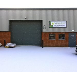 Snow-covered Wonderlawn head office