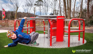 commercial artificial grass installations in playgrounds