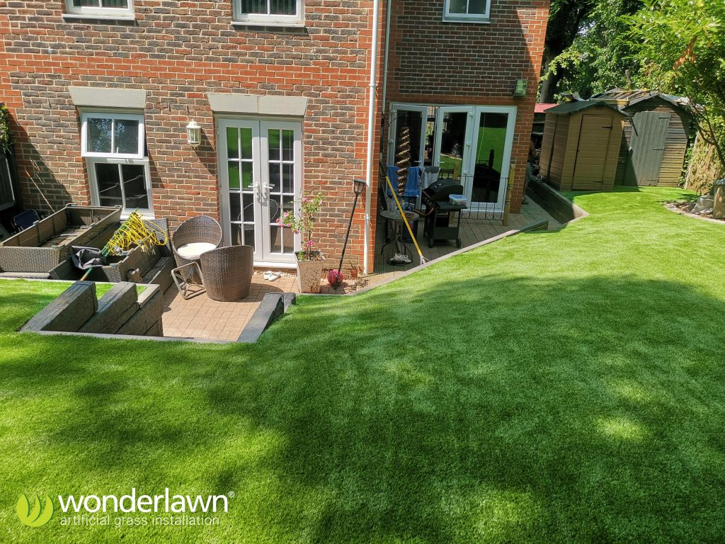 artificial grass installation in hampshire