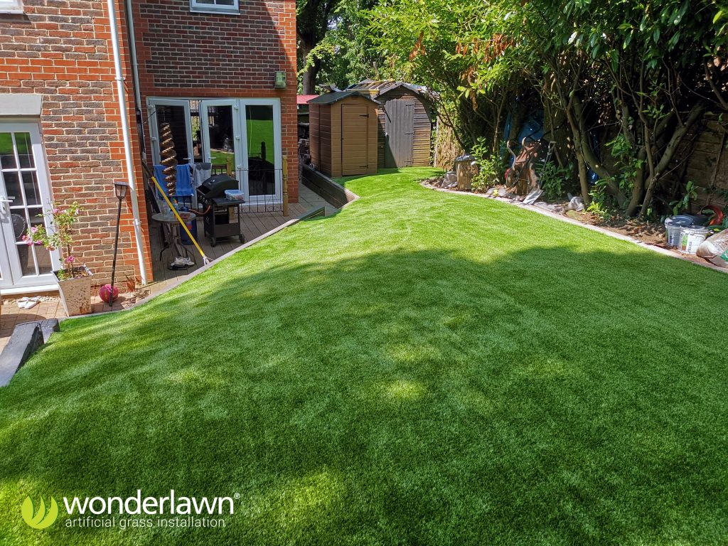 hampshire artificial grass fitting