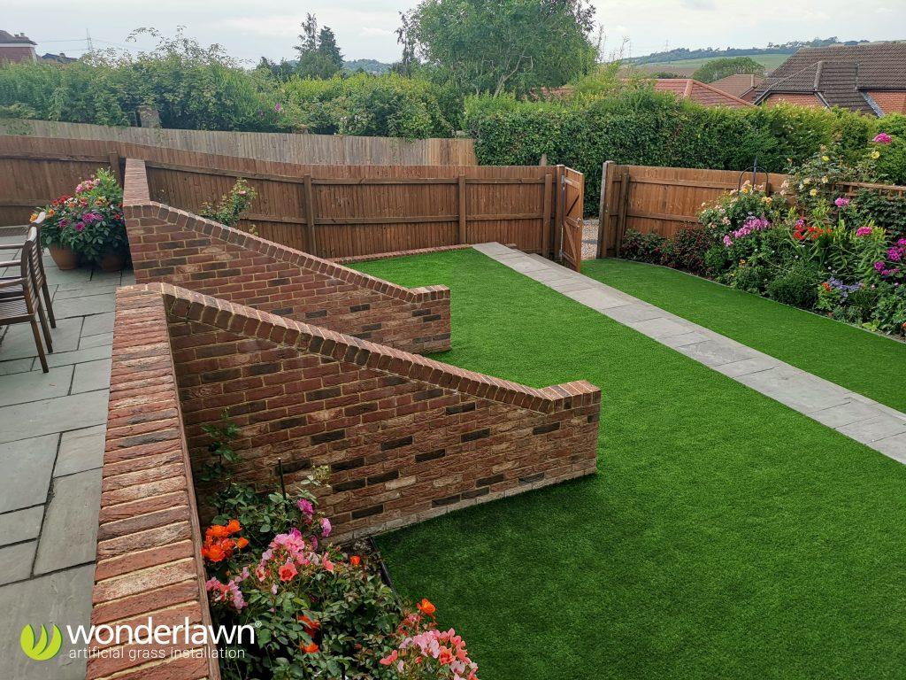 Hampshire artificial grass installation