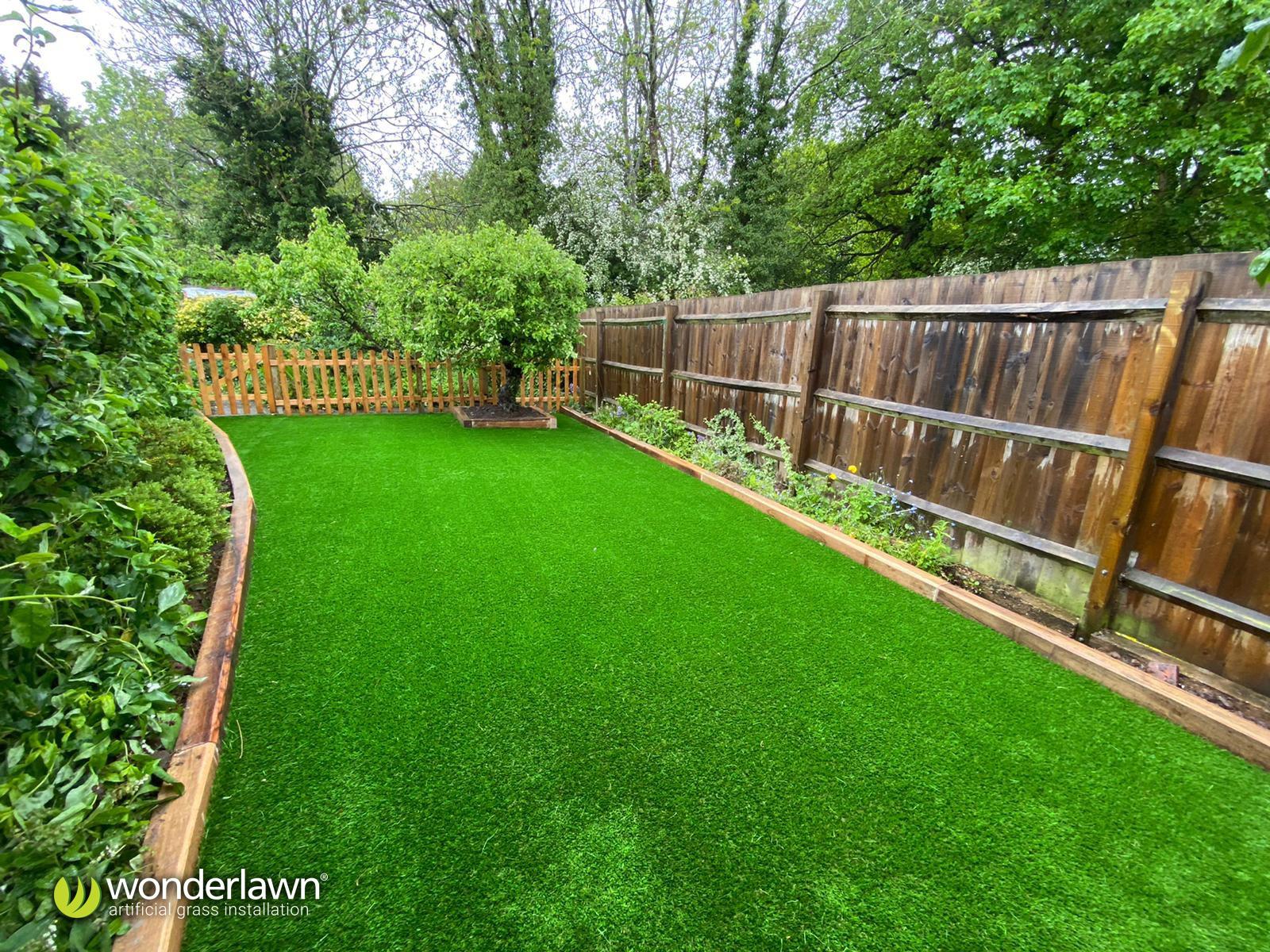 Artificial grass installed in Birmingham