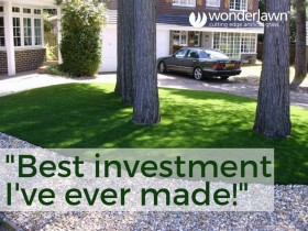 Quality artificial grass lasts for at least 20 years
