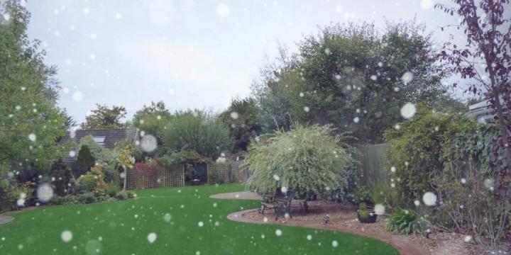 Artificial turf winter